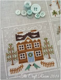 Country Cottage Needlework series....have got several....cute....