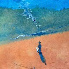 Доброго дня! #waterpainting #watercolor #artfinder #акварель #waterproof #watercolor #illustration #art #artkonovalova #relax #meditations