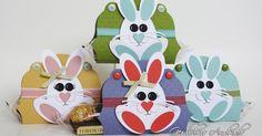 Troqueladores, materiales y piezas que necesitas para hacer el conejo:   *Punches, materials, and pieces you're going to ne...