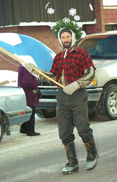 Heikki Lunta is the Finnish snow god. If you live in the Upper Midwest it's best not to get on his bad side.
