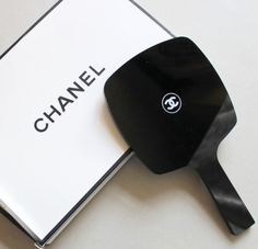 Limited+Edition+Chanel+Hand+/+Vanity+Mirror.+ Great+for+your+bath+or+bedroom+vanity.+Great+to+add+to+your+vanity+area+and+makeup+accessories+collection.+ Comes+with+Original+Chanel+gift+box Dimensions:+ Mirror:+L+23+cm+x+W+13.3+cm+(L+9.05+in+x+W+5.23+in) Mirror+Handle+Only:+L+10+cm+x+W+2...