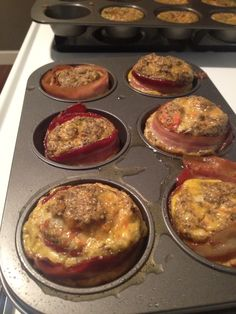 Bacon-Wrapped Breakfast Cups: Tasty, Easy and Whole30 Approved! - Kate Updates