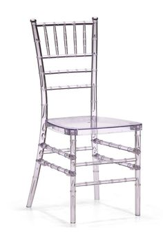 A classic...ghost chair! Works in modern and contrasts nicely in ...