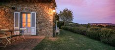La Locanda Country Hotel is set on a plateau 600 meters above sea level in the most beautiful part of Chianti. A converted farmhouse from the 16th-century it overlooks Volpaia, a magnificent medieval hilltop village facing Radda in Chianti. La Locanda is the perfect retreat after visiting Chianti Classico countryside, hamlets and cellars, a walk through the woods or a day's sightseeing in nearby Florence, Siena, Arezzo or San Gimignano. Country Hotel, Maybe Someday, Tuscan Decorating, Tuscany Italy, Siena, Bed And Breakfast, Beautiful Landscapes, Countryside, Medieval