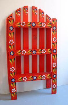 Mexican Handcraft  Hand Made Wood Shelf