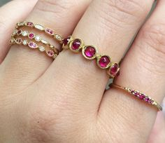 Gorgeous rubies!