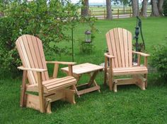 amish outdoor rocker gliders | Amish, glider, cedar, furniture, lawn furniture, cedar glider, porch ...