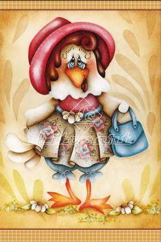 *TOLE - TALLY CUTE! ~ Chicken Graphics & Refs