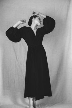 "The ""Mina"" wrap dress by Silversaga"
