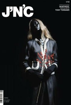 J'N'C Cover, Hair & Makeup: Jazz Mang, Photographer: Yves Borgwardt, Styling: Saskia Schmidt, black face, www.basics-berlin.de