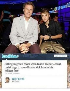 Will Farrell. Oh how you make me laugh.