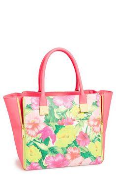 { floral bag }