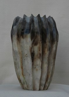 pit fired urn