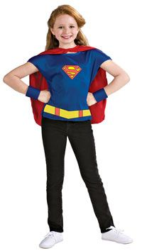 Girls Supergirl Costume – Superman Costumes « Mutant Faces