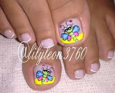 Best Fails Art Designs For Toes Animal Prints Ideas Uñas Decoradas ? Animal Nail Designs, Toe Nail Designs, Nail Polish Designs, Cute Toe Nails, Fun Nails, Pretty Nails, Crazy Nail Art, Crazy Nails, Pedicure Nail Art