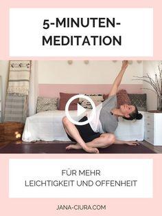 Yoga Meditation, Atem Meditation, Yoga Routine, Yoga Inspiration, Stress, Mental Training, Yoga Fitness, Fitness Workouts, Health Facts