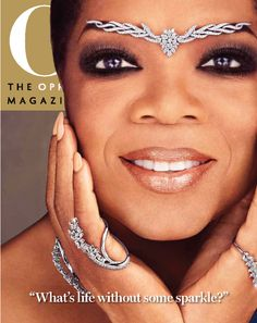 This was a Blipp I created for the cover of the October 2014 issue of Oprah's magazine, O.