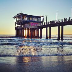 Durban Beach Front in ITheku, KwaZulu-Natal Durban South Africa, South Africa Safari, Cities In Africa, Kwazulu Natal, North Beach, Pretoria, To Infinity And Beyond, Beautiful Places To Visit, Africa Travel