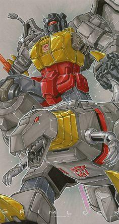 commission grimlock by markerguru on deviantART