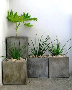 37 Modern Planters To Make Your Outdoors Stylish                                                                                                                                                                                 More
