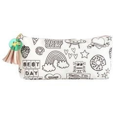 Color-In Zip Pencil Case - Yoobi Awesome