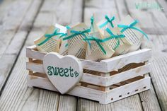 Items similar to Country-chic fruit crate, confetti box for a rustic wedding. on Etsy Blue Wedding, Wedding Table, Rustic Wedding, Wedding Ceremony, Handmade Wedding, Chic Wedding, Wedding Ideas, Confetti, Country Chic