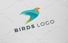 Brids Logo Template by REDVY on @creativemarket