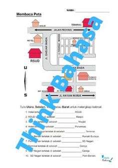 Directions in Indonesian (Worksheets & Answer Keys) | Arah by Think Bahasa Dhanteras Images, Teaching Packs, Indonesian Language, Vocabulary Words, Worksheets, Keys, Key, Literacy Centers, Countertops