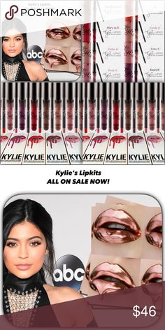 ALL KYLIE's Matte Lipkits ON SALE NOW/Lmtd Amts ALL Kylie's Mattes SALE PRICED! ALL authentic come w proof/Ship in Kylie's shipping boxes as long as I have them! Most Mattes $29/Christmas Mattes & Birthday Matte Colors=$30+Kylie's Site Shipping fee/breakdown $29 Kits+Kylie's shipping fee=$8.95+20%Poshmark Selling fee=$7.59 Total =$45.54(round to $46)Some Special Matte's are=$30 Christmas Mattes/$30+$8.95(Kylie's Shipping)+$7.79 Poshmark selling fee/=$46.29 must round to $47 on $30 Matte…
