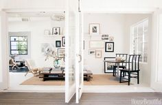 Gallery Wall / Sliding Glass Doors