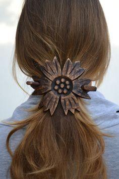 Hair Accessories, Hair Barrette, Hair Bow, Barrette, Hair Pin, Hair Stick, Wedding Hair, Hair Slide, Wooden Shawl Pin,Hair Comb,Wood Carving
