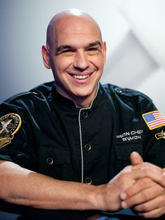 Iron Chef - Michael Symon.  Adorable & fun!!