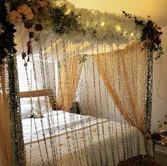 Wedding Room Decorations, Desi Wedding Decor, Wedding Card, Wedding Gifts, Wedding Ideas, Awesome Beds, Cool Beds, Diy Room Decor, Bedroom Decor