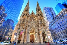 St. Patricks Cathedral NYC. Went to an afternoon mass here. So cool. Such a beautiful cathedral.