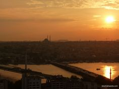 View from Galata Tower Istanbul Turkey #idowhatiwanto