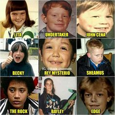 WWE Superstars When They Were Young