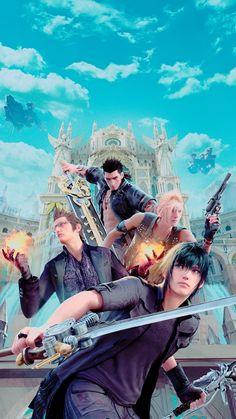 Chocobros away! Final Fantasy Xv, Final Fantasy Artwork, Final Fantasy Characters, Fantasy Series, Fantasy World, Kingdom Hearts, Finals, Game Art, Xbox 360