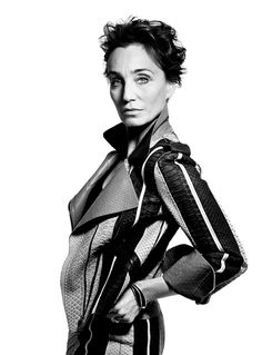 Kristin Scott Thomas Hunger Editorial Portrait Mighty Blighty by Rankin