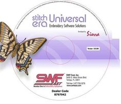 Sierra Stitch ERA Universal v11.21 is the first FREE digitizing software powerful enough for a professional digitizer yet easy enough for any home embroidery enthusiast to use.