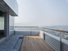 © F. Hoffmann-La Roche Ltd. terras borswering materialisatie Herzog & De Meuron uitzicht penthouse