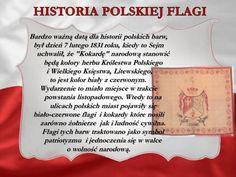 Znalezione obrazy dla zapytania polska flaga znaczenie barw Poland Facts, Poland History, Polish Language, Visit Poland, Polish Recipes, School Projects, Fun Learning, Back To School, Homeschool