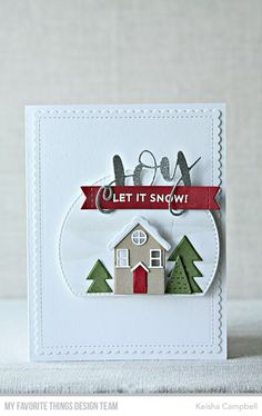 Keisha Campbell | MFT's October New Release Countdown-day 3 | let it snow