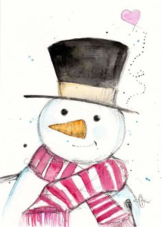 A Little Frosty..... Art Print 5x7 by claireswilson on Etsy, $15.00