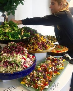 Rockwell Catering and Events Salad Buffet, Lunch Buffet, Party Buffet, Ottolenghi Salad, Ottolenghi Recipes, Antipasto, Buffet Chic, Catering Food, Wedding Catering