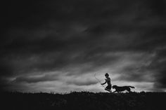 """1ST PLACE IN THE SILHOUETTE CATEGORY - """"Run"""" by Niki Boon, New Zealand"""