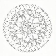Studio 320 West: Hand drawn Mandala