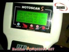 May motoscan xac dinh loi xe Fi xác định lỗi cho các dòng xe Fi