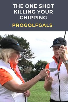 The toe shank! If you have wondered what causes that dreadful chip shot that goes straight right, this lesson from the ProGolfGals is for you. #golf #golftip #golfswing #golflessons #womensgolf Golf Wedges, Golf Chipping Tips, Golf Books, Golf Holidays, Golf Score, Best Golf Courses, Golf Instruction, Golf Putting, Golf Exercises