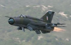 "Croatian Air Force MiG-21Bis ""Fishbed"""