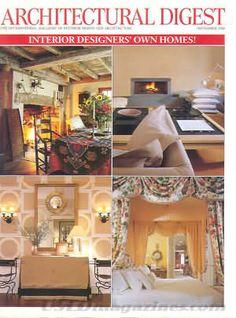 Architectural Digest September 2000